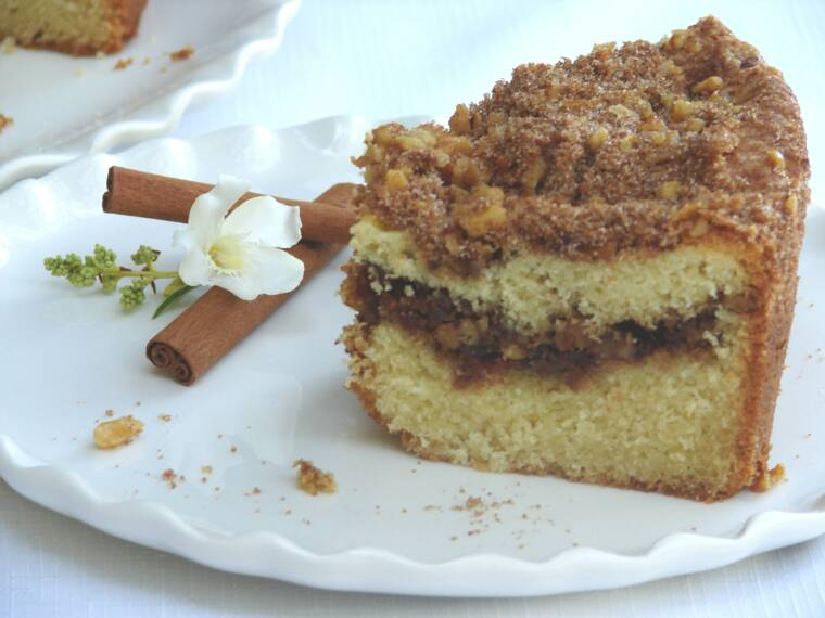 walnut coffee cinnamon walnut coffee this cake turns out easy cinnamon ...